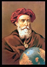 Vasco da Gama (1469-1524), Portuguese sailor.