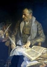 Francesc Salva y Campillo (1745-1828), Catalan physician and scientis.