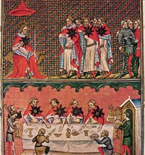 John II the Good, founded the Order of the Star, Miniature in 'Chronicles of France', illuminated?