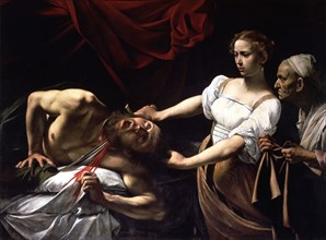 Judith and Holofernes', oil painting by Caravaggio.
