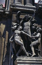 'The Dance', sculpture group copied from the façade of the Opera Theatre by Paul Belmondo, work ?