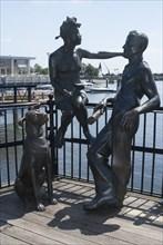 Cardiff, Mermaid Quay, 2009. Creator: Ethel Davies.