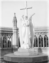 Angel of the Memorial Well, Cawnpore, India, 1902. Creator: Kirk & Sons of Cowes.