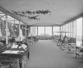 Viewing Platform, Royal Yacht Squadron. Creator: Kirk & Sons of Cowes.