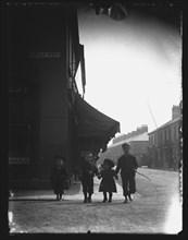 Emerald Street, Cardiff, 1890s or 1900s. Creator: William Booth.