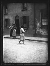 Mary Ann Street, Cardiff, 1893. Creator: William Booth.