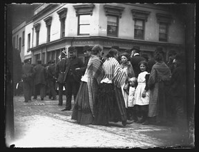 Corner of Custom House Street and Bute Street, Cardiff, 1892. Creator: William Booth.
