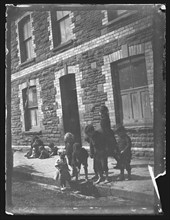 Nora Street, Cardiff, 1893. Creator: William Booth.