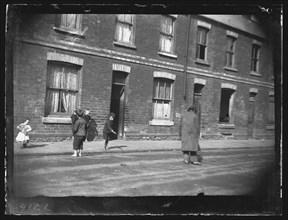 Nora Street, Cardiff, 1892. Creator: William Booth.