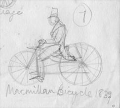'MacMillan bicycle, 1839', (c1950).  Creator: Shirley Markham.