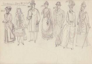 Historical costume, c1950. Creator: Shirley Markham.