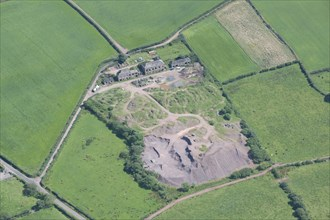Hail Moor ironstone mine, Cumbria, 2014