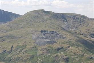 Bursting Stone Quarry, Cumbria, 2014