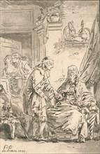 Le Toucher', 1775.