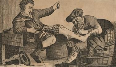 Druid and Highlander', 1812-1817.