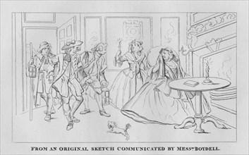 A Night Scene', 1809, (1827).