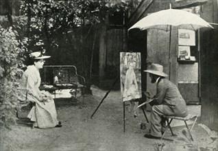 Toulouse-Lautrec painting Berthe la Sourde, 1890, (1947).