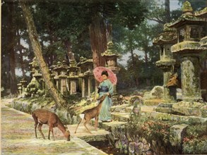 Nara, the Heart of Old Japan', 1910.
