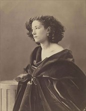 Portrait of Sarah Bernhardt (1844-1923), 1864.