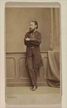 Portrait of the composer Bedrich Smetana, ca 1866.