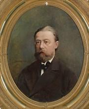 Portrait of the composer Bedrich Smetana.
