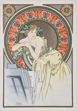 La Femme aux Coquelicots , 1898.