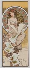 Champenois Calendar, ca 1897.