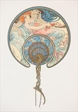 Le vent qui passe emporte la jeunesse. (The Fan), 1899.