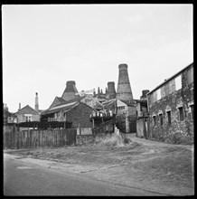 Enson Works, Bagnall Street, Longton, Stoke-on-Trent, 1965-1968