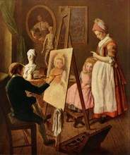 The Young Painter', 1760s, (1965).