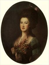 Portrait of Countess J. V. Santi', 1785, (1965).