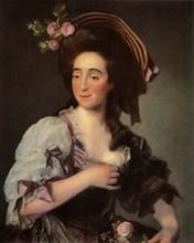 Portrait of Anna Davie Bernuzzi', 1782, (1965).