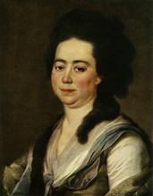 Portrait of Anna Sergeyevna Bakunina', c1770s, (1965).