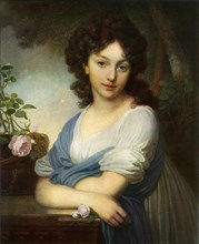Portrait of Yelena Alexandrovna Naryshkina', 1799, (1965).