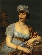 Portrait of an unknown Woman with Headdress', 1812, (1965).
