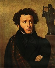 Portrait of Alexandr Sergeyevich Pushkin', 1827, (1965).