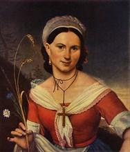 Portrait of the dancer K. A. Telesheva', 1828, (1965).