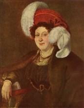 Portrait of the Countess V. A. Zubova', 1834, (1965).