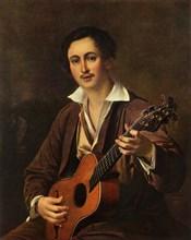 The Guitarist', 1820s, (1965).