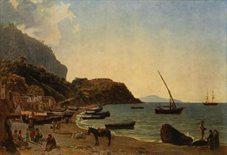 The Great Bay of Sorrento', 1827-1828, (1965).