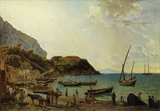 The great Bay of Sorrento - a variation', 1820s, (1965).