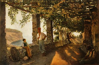A Terrace by the Sea-shore', 1828, (1965).