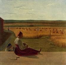 Harvesting. Summer', mid 1820s, (1965).
