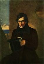 Portrait of the Poet Nestor Vasilyevich Kukolnik', 1836, (1965).