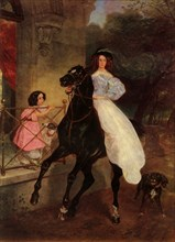 The Horsewoman', 1832, (1965).