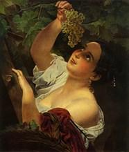 Italian Noon (Italian Girl picking Grapes)', 1827, (1965).