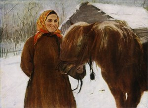 Woman with a Horse', 1898, (1965).