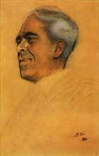 Portrait of the Actor Konstantin Sergeyevich Stanislavsky', 1911, (1965).