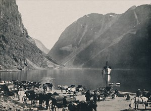 Gudvangen, Naeroyfjord', 1914.