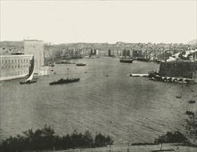 Harbour view, Marseilles, France, 1895.